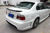 Acessórios do carro De Fibra De Carbono MP Estilo Tronco Spoiler Apto Para 1997-2003 E39 Série 5 Spoiler Traseiro Tronco Asa carro-styling