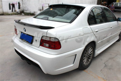 Akcesoria samochodowe z włókna węglowego MP styl Spoiler bagażnika nadające się do 1997-2003 E39 serii 5 tylny spojler bagażnika skrzydło samochód stylizacji