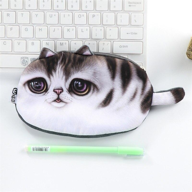 Funny Cat Pencil Case 4