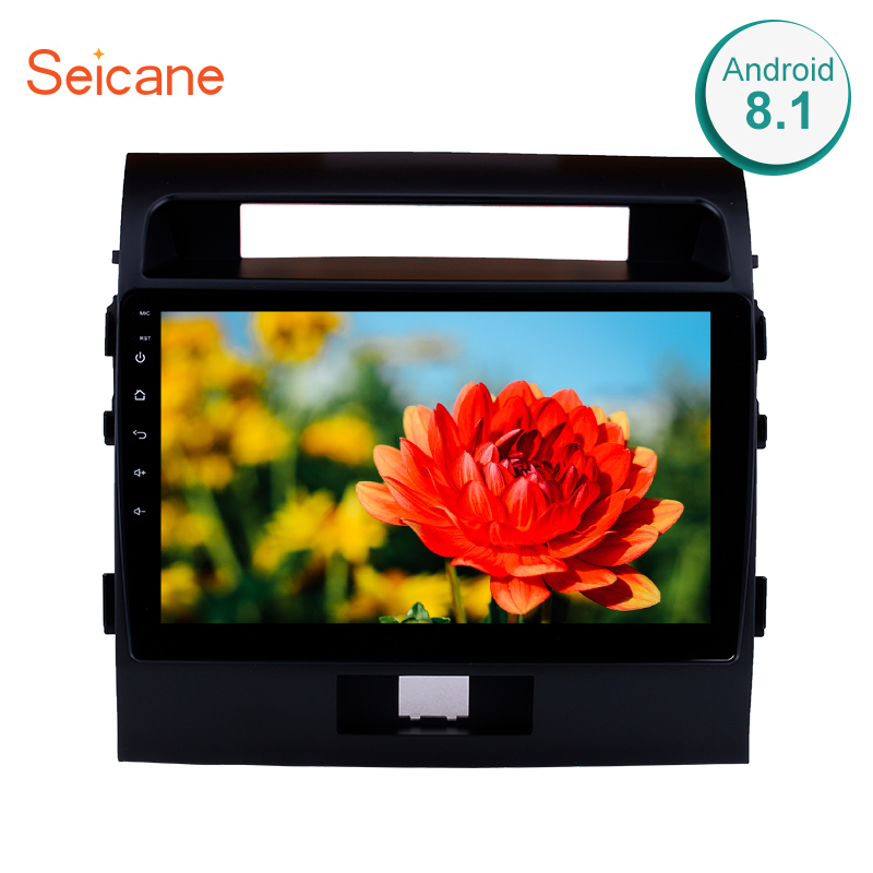 "Clearance Seicane 10.1"" Android 8.1 car Radio GPS Navigation for 2007-2017 Toyota Cruiser FJ with Touchscreen Bluetooth OBD2 WiFi AUX SWC 0"