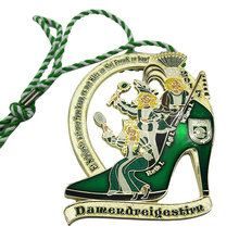 Customized Die Casting medals cheap Zinc Alloy Enamel Award Medal custom metal cut out