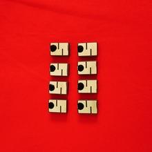 10 шт. металлическая устойчивая электронная этикетка микро-миниатюрная RFID керамическая электронная этикетка