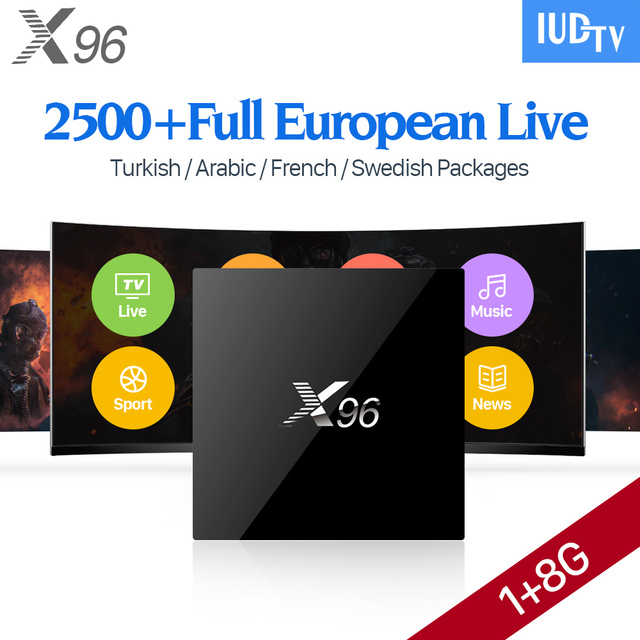 Sweden French Tv Box Android K Gb Hd Wifi Multi Language Iudtv Code Portugal