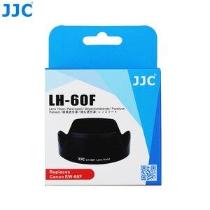 Image 5 - JJC Camera Flower Shade osłona obiektywu do CANON EF M 18 150mm obiektyw do Canon EOS M200 M100 M50 M10 M6 Mark II M5 wymień Canon EW 60F