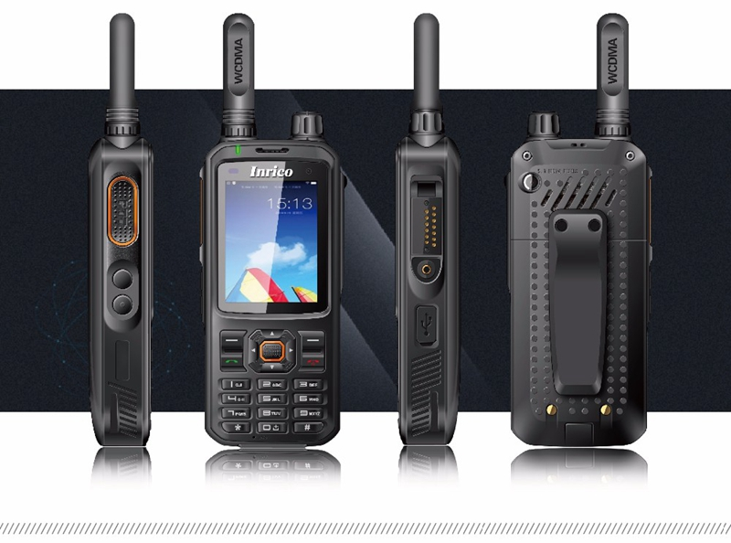 Image 4 - WCDMA walkie talkie radio publice network SIM Card GPS UHF analog 400 470mhz portable two way radio T298S Inrico-in Walkie Talkie from Cellphones & Telecommunications