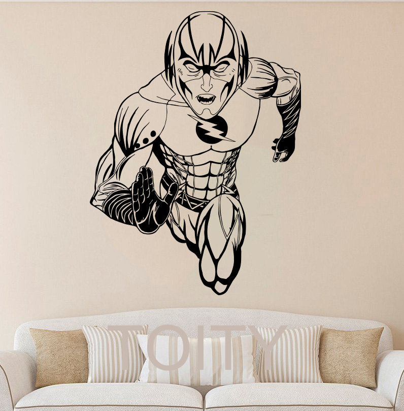 Online Get Cheap Superhero Wall Decals For Kids Rooms Aliexpress - Superhero wall decals for kids rooms