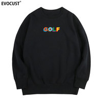 Golfed Wang Sk New 90th Tyler The Creator OFWGKTA Skate Frank Ocean Harajuku men Sweatshirts women unisex Combed Cotton