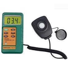 Heißer Verkauf Professionelle TM207 Tenmars Hohe Präzision Solar Strahlung Detektor Power Meter Tester