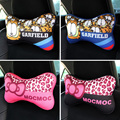 Cute cartoon car car headrest pillow Garfield cat PP cotton auto safety neck pillows for seats accessories cushion