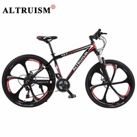 Altruism Q7 Bmx Bicycle Bisiklet Bike Aluminium Men Women 21 Speed 26 Inch Double Disc Brake