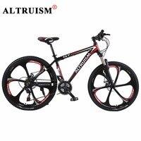 Altruism Q7 Bmx Bicycle Bisiklet Bike Aluminium Men Women 21 Speed 26 Inch Double Disc Brake