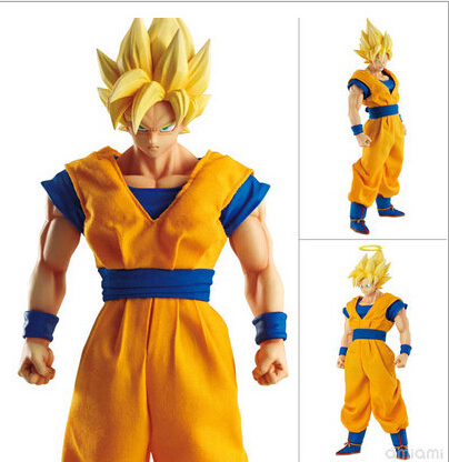 MegaHouse DOD Dragon Ball Z Son Goku PVC Action Figure 21CM DOD Super Saiyan Goku Collectible Model Toy Figuarts DB23 anime figure 32cm dragon ball z super saiyan son goku lunar new year color limited ver pvc action figure collectible model toy