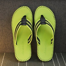 JYRhenium 2019 New Summer Men Slippers Flip Flops Unisex Beach Sandals Anti-slip Zapatos Hombre Big Size Red Women