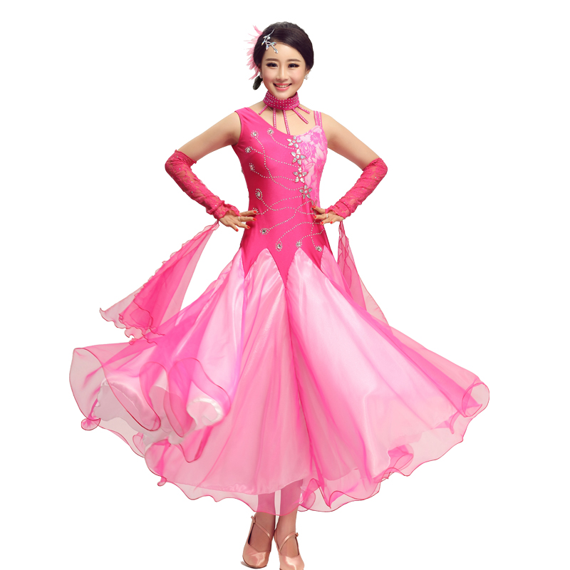 New Ballroom Dance Dresses Standard Stage Costume Performance Womens,Smooth Ballroom Dress,Modern Waltz Tango,competition Dress