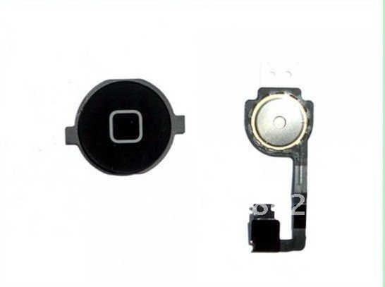 free shipping for OEM iPhone 4 4G Flex Cable Home Button Repair Part