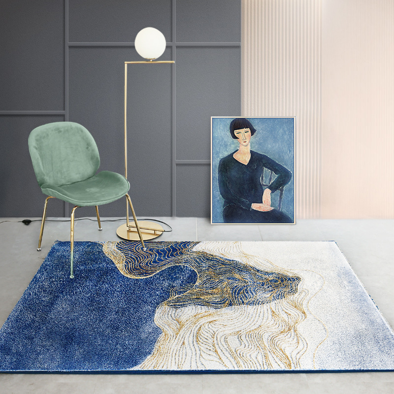 SWLD Soft Thicker Turkey Carpets For Living Room Bedroom Kid Room Rugs Home Carpets Chinese Style Luxury Delicate Area Rugs Mat
