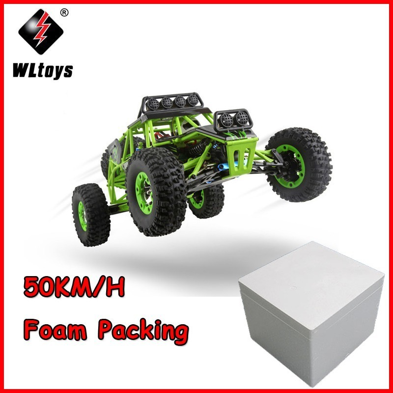 Wltoys 12428 RC Car 1/12 2.4G 4WD Electric Cars Brushed Rock Crawler RTR Remote Control RC Toys Car SUV Bigfoot wltoys 12428 12423 1 12 rc car spare parts 12428 0091 12428 0133 front rear diff gear differential gear complete