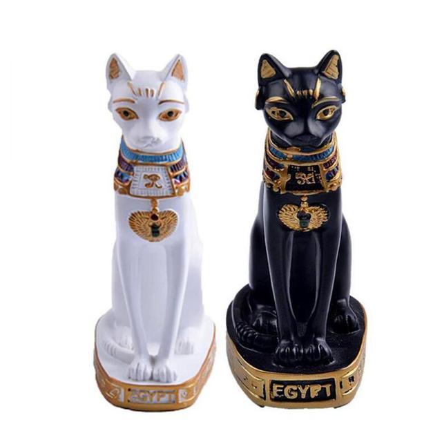 Egypt Cat Home Decoration Accessories Vintage Home Decor Figurines ...
