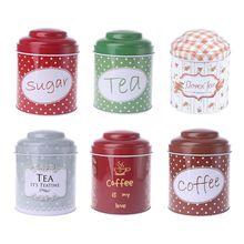 Ретро металлическая круглая конфетная безделушка, оловянные украшения, железная коробка для свечей, чая, кофе, коробка для хранения монет, чехол, свадебные подарки