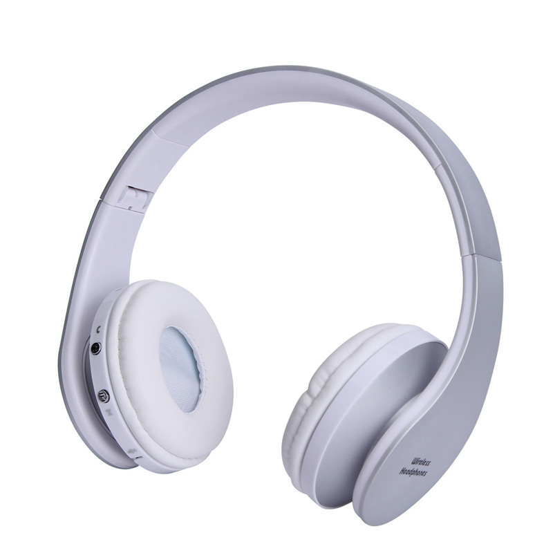 Gold Color Wireless Headphones Bluetooth Headset Earphone Headphone Earbuds Earphones With Microphone For PC mobile phone music