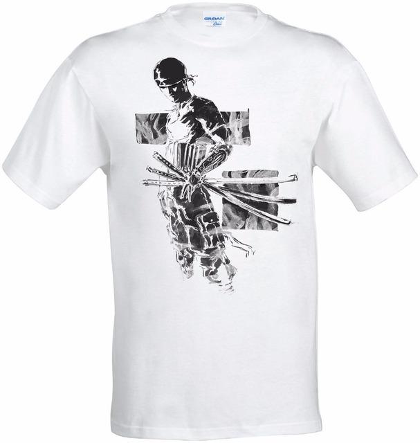 Custom Roronoa Zoro One Piece Art Shirt