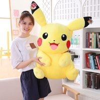 1pcs 55/75cm Giant Pikachu Plush Toys Cute Stuffed Animal Dolls Children Toys Christmas Gift High Quality