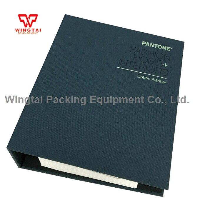 1.5*1.5 cm Coton Puce Pantone TCX FHIC300 PANTONE Maison De Mode Coton Planificateur Design Guide Livre
