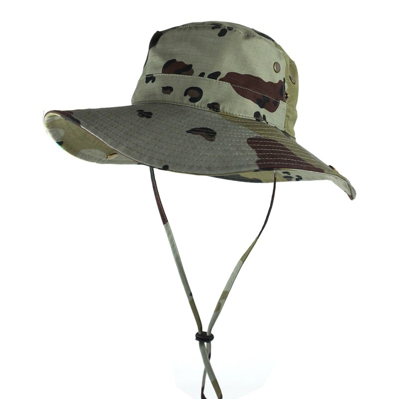 Military hats Summer Outdoor Caps Camouflage Breathable cap Fishing Jungle Hat Holiday TourismFree shipping sale