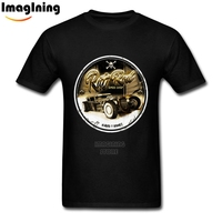 Retro Car Style T Shirt Rat Rod Custom Graphic T Shirts Over Size Male S O