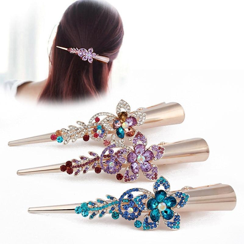 Flight Tracker Korea Fashion Acrylic Duckbill Clip Women Girls Hair Clips Hairpins Accessories For Women Hair Clamp Barrette Hairgrip Hairclip Girl's Accessories