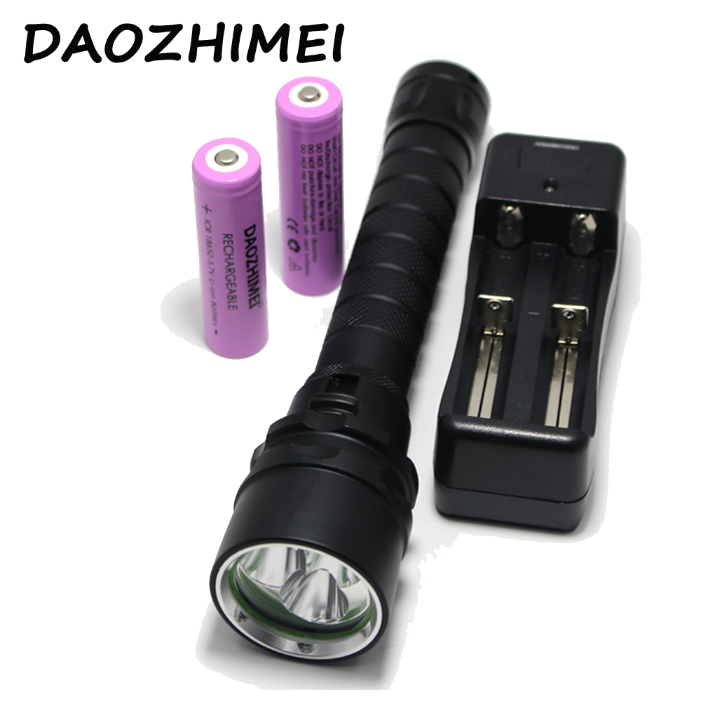 Led Lighting Underwater 100m Diving Flashlight 15000 Lumen 5x L2 Dive Flash Light Diving Light Lamp Torch For Outdoor Diving Cheapest Price From Our Site Led Flashlights