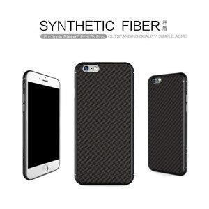Image 1 - Karbon fiber iphone için kılıf 6 6 s konut Nillkin Sentetik elyaf arka kapak durumda silikon PP geri shell coque iphone 6 plus