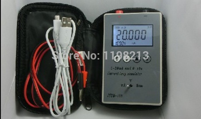 4-20MA/0-10V Current Voltage Signal Source Signal Generator Handheld Calibrator 4-20ma current signal generator 4-20ma generator брюки adidas брюки тренировочные adidas tiro17 pes pnt bq2619