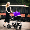 Hot Vender Carrinho de Bebê Boa Paisagem Roda de Liga de Alumínio Portátil Dobrável de Carro Do Bebê