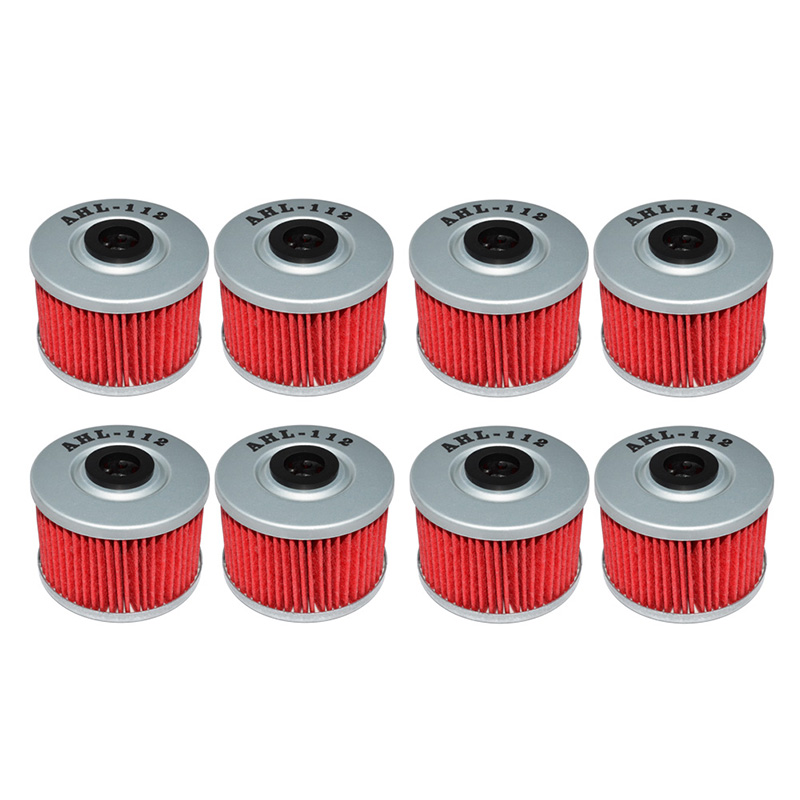 fuel filter 2005 honda pilot ex 8pcs motorcycle parts oil filter for honda xr650l xr 650 l ... #13