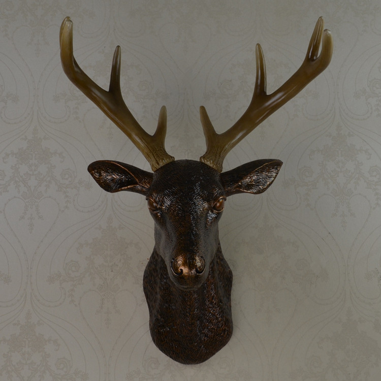 White Deer Head Wall Decor compare prices on plastic deer head wall mount- online shopping