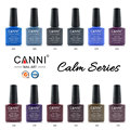 CANNI 12PCS UV Nail Gel Polish UV/LED 207 Colors 7.3ml Long Lasting Soak Off Varnish Lacquer Maniture