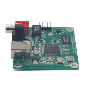 Image 3 - TZT CM6631A 24bit/192khz USB to Coaxial and Optical fiber SPDIF and I2S by LJM New version