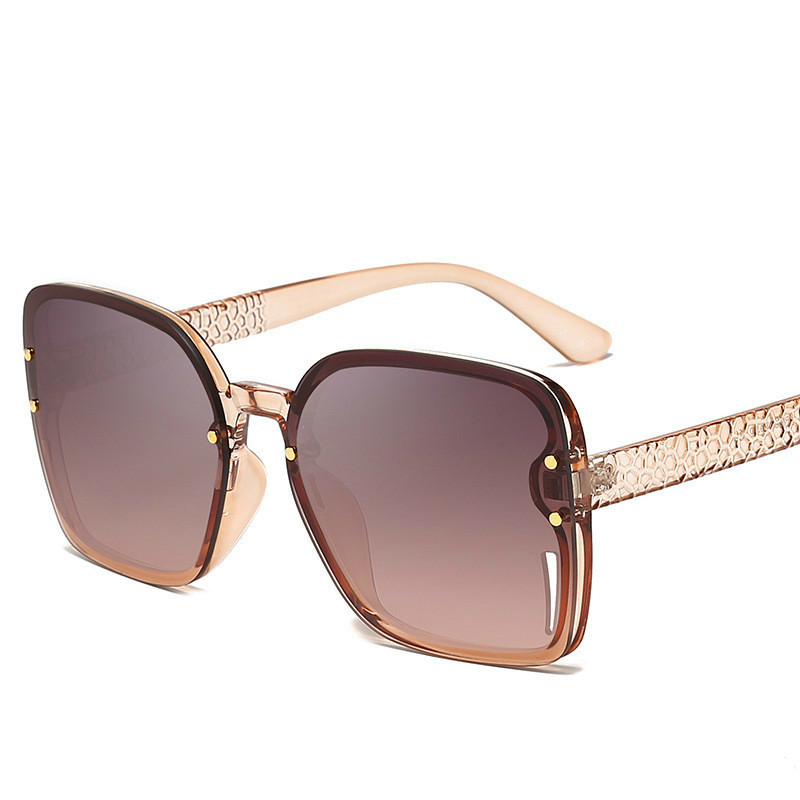 Trend Personality Will Frame Sun Glasses Meters Nail Decoration Men And Women General Purpose Sunglasses Ocean Piece Glasses in Sunglasses from Mother Kids