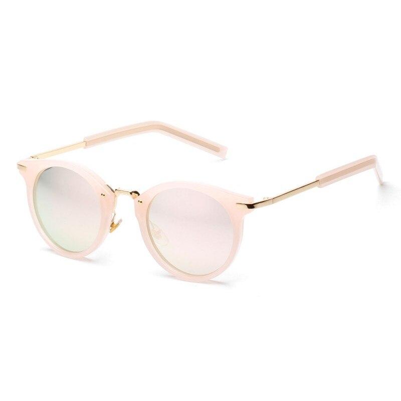 Vintage Women Fashion Eyewear Steampunk Sunglasses Brand Design Round Sunglasses UV400