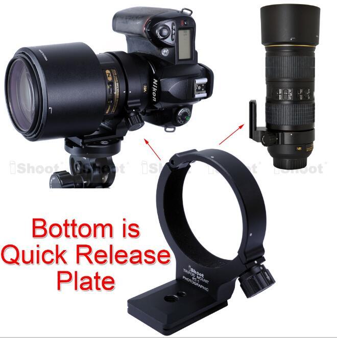 Objectif Trépied Anneau RT-1 Caméra Soutien Titulaire Collier avec Arca Fit Plateau Rapide pour Nikon AF-S 300mm F/4E PF ED VR