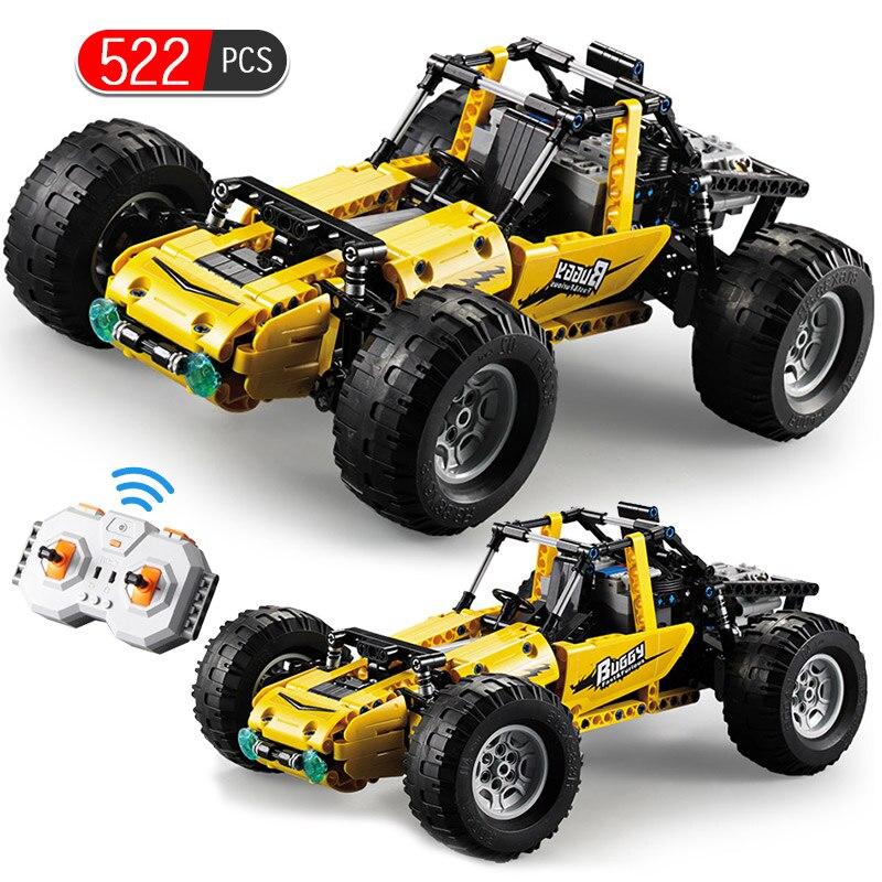 522 pièces lego RC Technic 2.4G véhicule tout-terrain RC Super sport voiture vitesse Champions bloc de construction briques jouets pour enfants