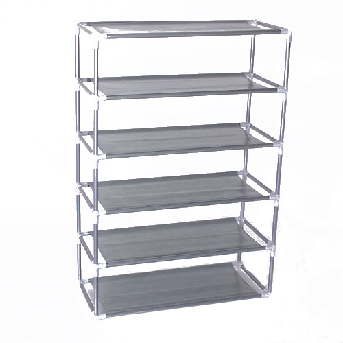 Shoe Cabinet Non-woven Shoes Racks Storage Large Capacity Home Furniture DIY Simple 6 layers