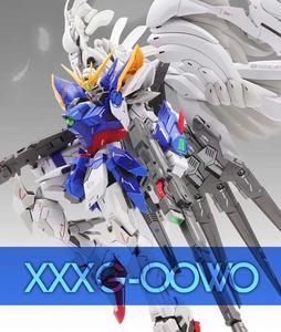 Image 1 - MX Gundam MG 1/100 aile fixe zéro combinaison Mobile assembler des maquettes figurines jouets pour enfants