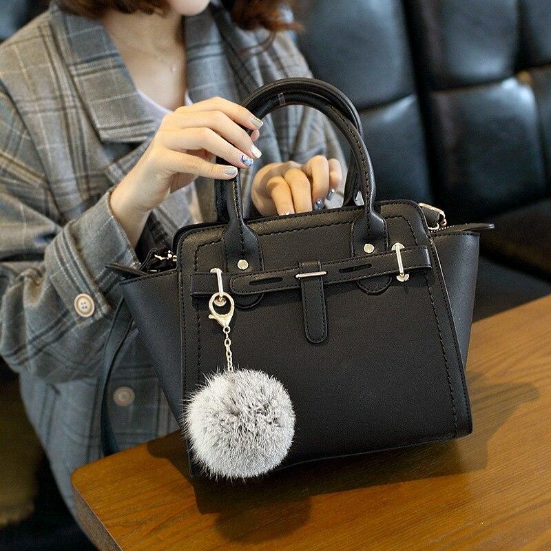 2019 Simpeuropean And American Fashion Pu Female Bag Lady Portable Shoulder Crossbody Bag Handbags Crossbody Messenger Bag