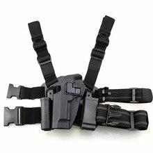 Тактический Шестерни Беретта M9 92 96 92fs левой ноги кобура, армейский чехол для военного оружия набедренная сумка Пейнтбол Пистолетная кобура