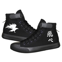 Unisex Haikyuu cosplay Canvas Shoes Hinata Shoyo kageyama Casual Preppy style sneakers Haikyuu Valleyball Luminous boots A71101