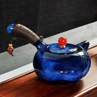 200ML di Ceramica tazza di Kung Fu Cinese Teiera di Porcellana Insieme di Tè Celadon Teiera D'epoca Dipinto A Mano S