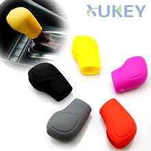 1Pc Siliconen Shift Shifter Pookknop Stick Cover Skin Case Voor Dsg 2012-Vanaf Vw Golf 6 Mk6 passat Jetta Cc Polo Touran Tiguan