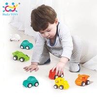 6 Stks/partij HUILE SPEELGOED 3117 Baby Speelgoed Great Trek Auto Snoep kleur Wielen Mini Auto Trein Vliegtuig Model Speelgoed voor Kinderen Jongens